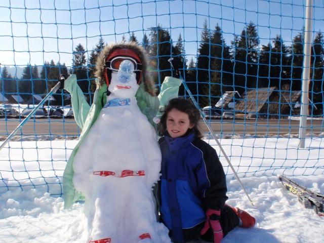 Katie's amazing snowman!
