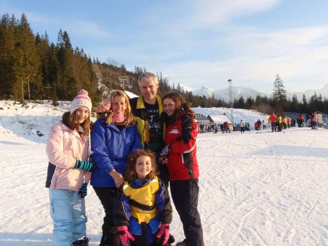 Enjoying a family holiday in Zakopane, Poland