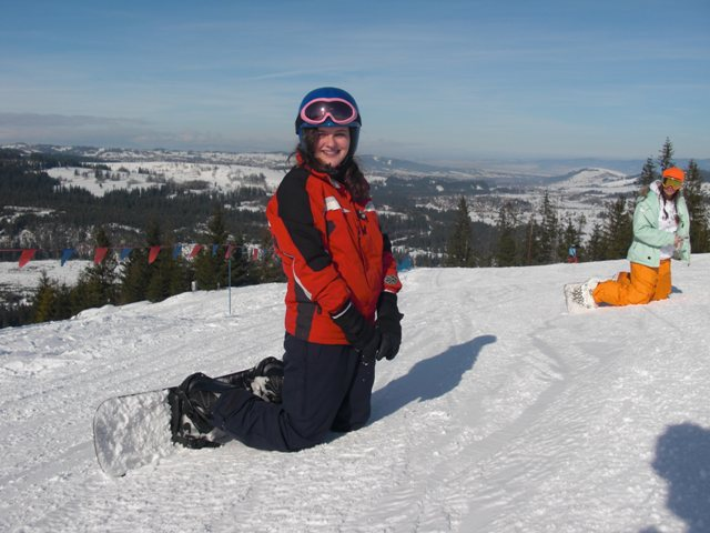 Enjoying time on the slopes in Zakopane, Poland with White Side Holidays
