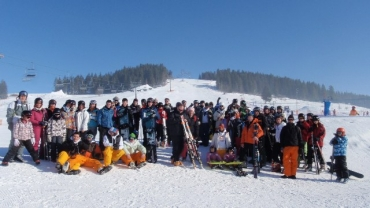 February Half Term Skiing and Snowboarding guests in Zakopane - February 2012
