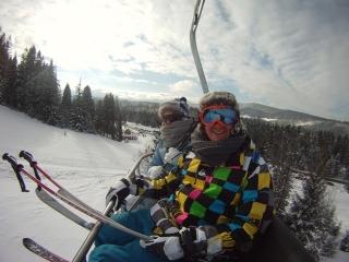 Ski lift photos are always good!