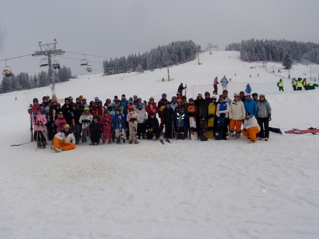 February Half Term Ski & Snowboard Guests enjoying Zakopane, Poland with White Side Holidays Poland