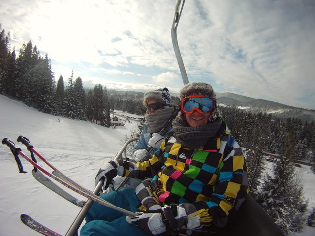 Ski lift photos are always good!