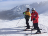 January 2015, return guests enjoying their first time skiing on Kasprowy Wierch with us in Zakopane, fun and smiles all day, aching legs the next!