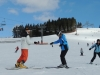 A beautiful sunny day to learn to ski on the slopes in Zakopane, February 2014, with White Side Holidays Poland