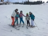 Ski instructor Ewa taking a lesson at half term in Zakopane with White Side Holidays Poland