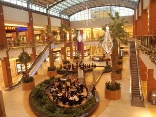 Bonarka shopping centre, Krakow, Poland