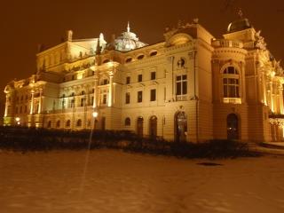 Krakow City Centre by Night