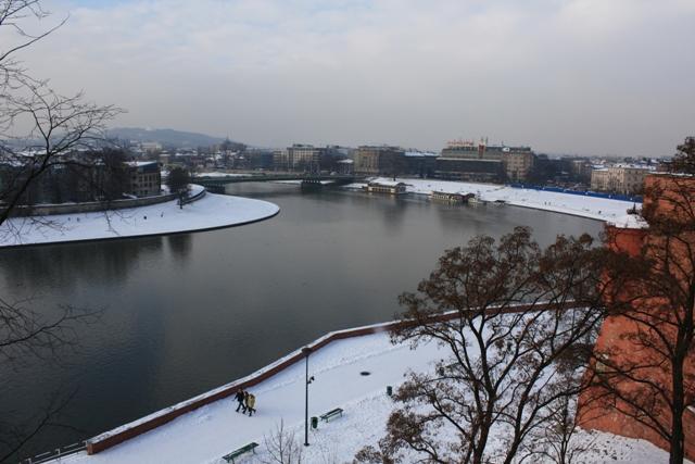 Wisla River, Krakow, Poland
