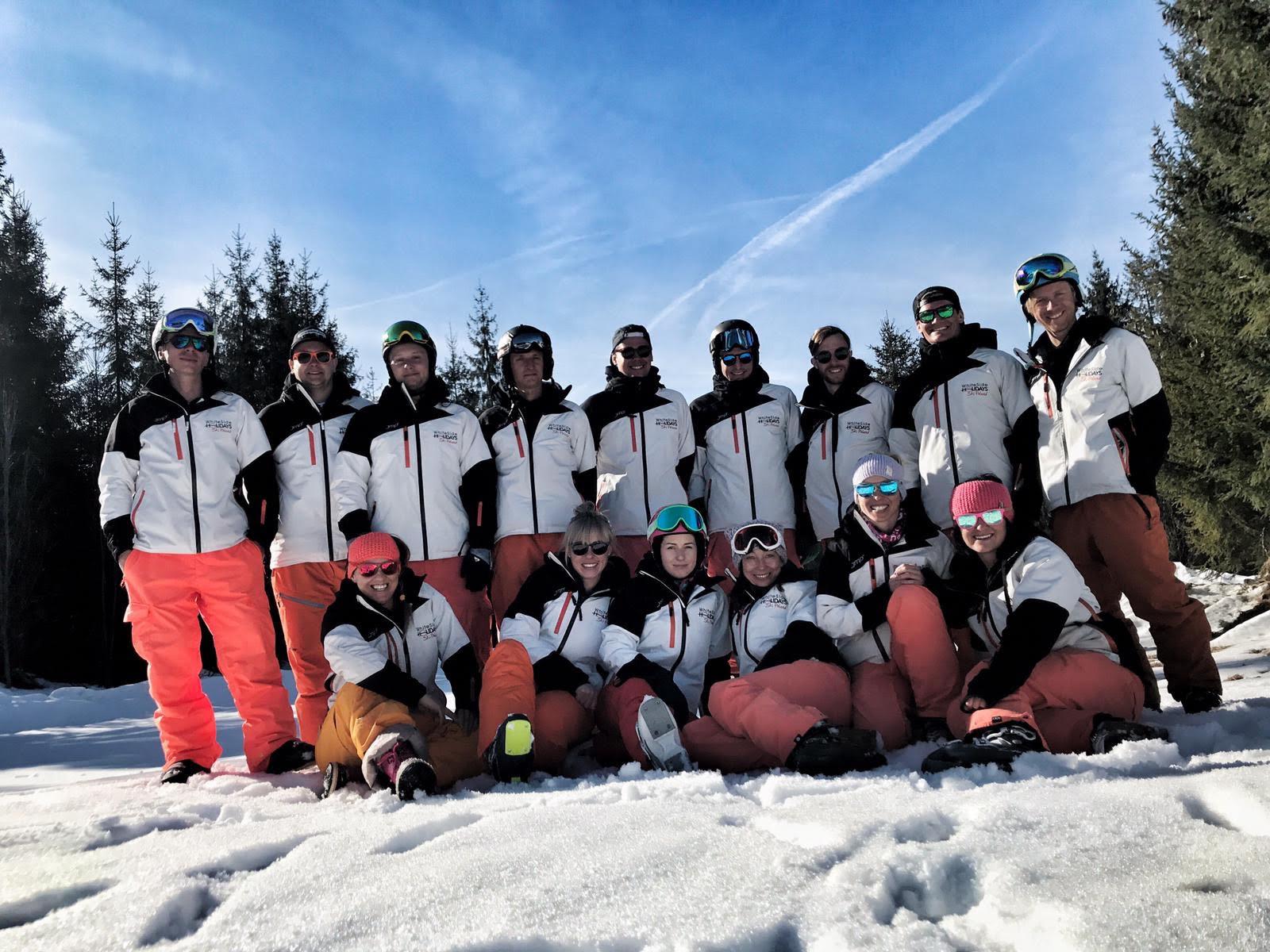 White Side Holidays Poland, Ski and Snowboard Instructors celebrating 10 years in Zakopane in 2019