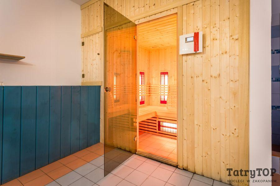 Sauna in Radowid Zakopane, Stay with White Side Holidays Poland