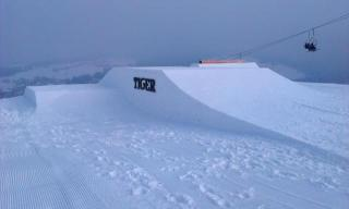 One of the new features in the Tiger Snowpark in Witow used by White Side Holidays Poland
