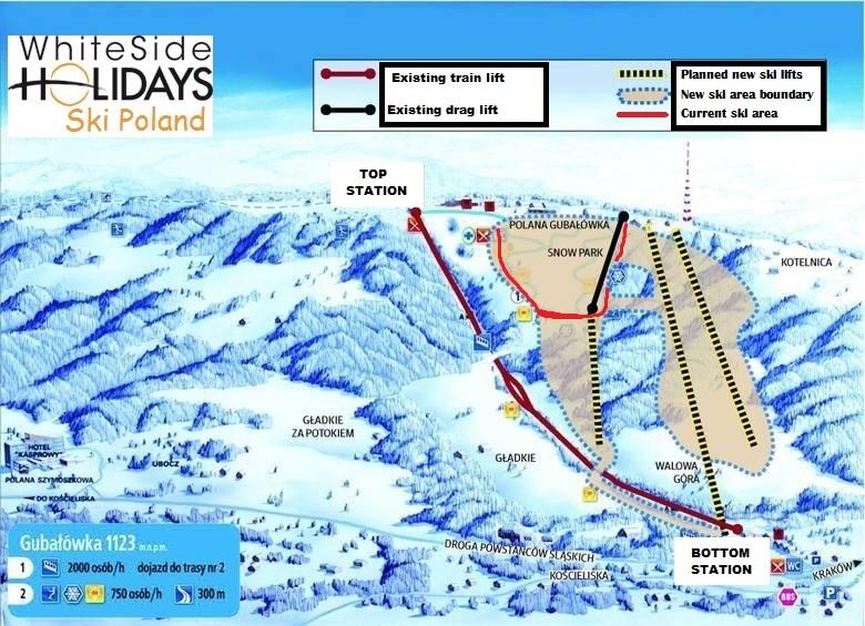 Ski Zakopane - new ski lifts for Gubalowka.