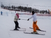 Dawid Instructing a beginner skier with White Side Holidays Poland in Zakopane during a girls ski break
