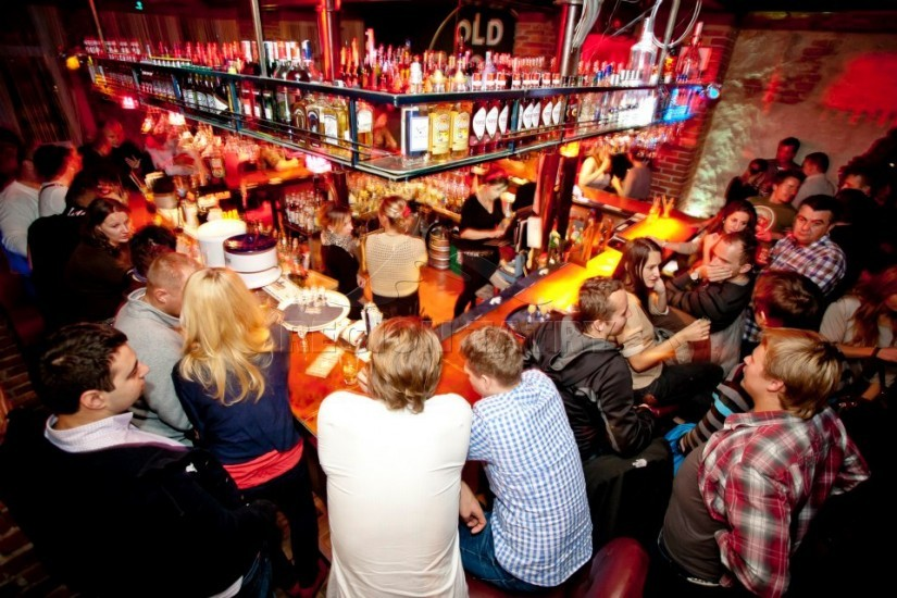 Va Va Voom nightclub in Zakopane, one of our favourite spots for drinking and dancing all night!