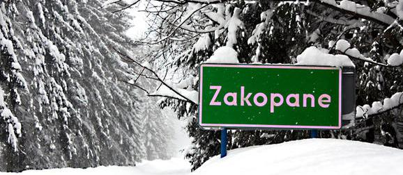 Zakopane, Poland in winter