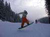 Gaz snowboarding on a White Side Holidays day trip to Jasna, Slovakia