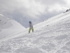 Monika snowboarding at Kasprowy Wierch, Zakopane, Poland