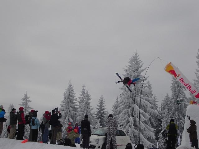 The North Face Polish Freeskiing Open event in Zakopane, Poland