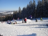 A spring day in the Burton Snow Park at Bialka ski area