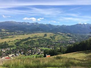 Overlooking Zakopane from the Gubalowka Hills