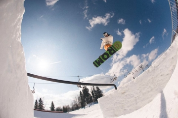 Freestyle skiing and snowboarding in Zakopane