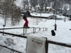 Jack Labbett snowboarding in Zakopane with White Side Holidays Poland and Whitelines Snowboard Magazine