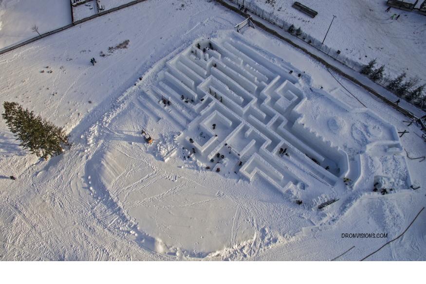 The Snow Maze in Zakopane, a Guiness World Record?