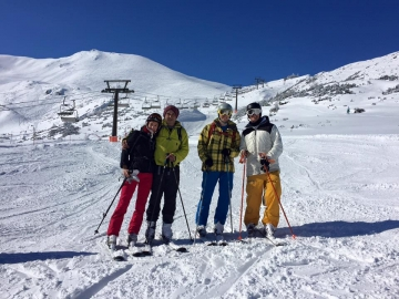 Spring skiing on Kasprowy Wierch, 16th March 2016 with White Side Holidays Poland