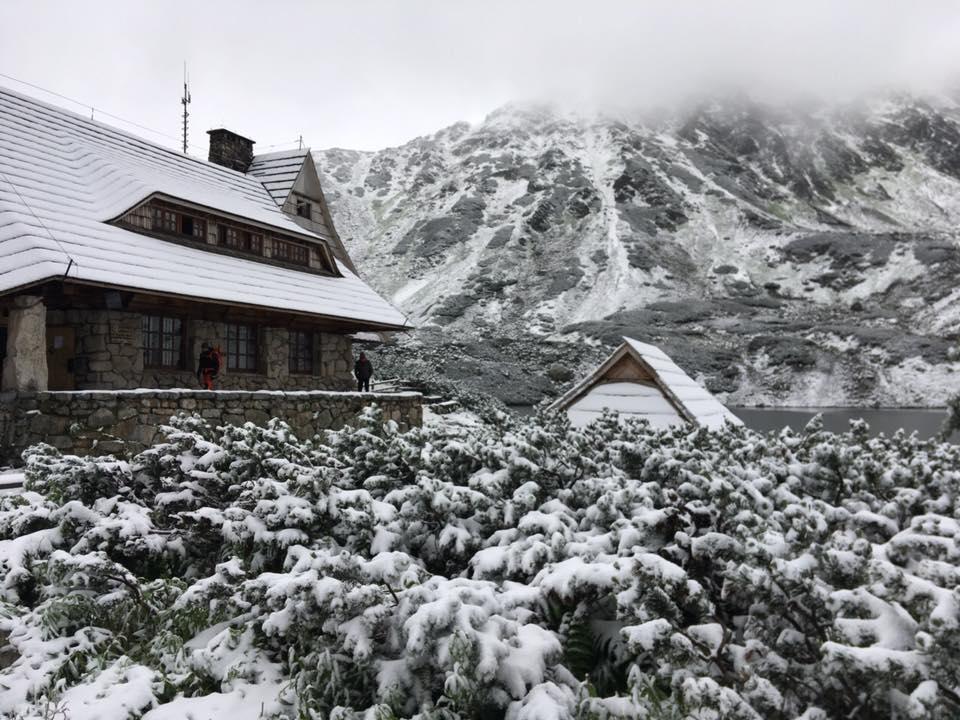 Summer in Zakopane? A surprise snowfall in late June 2019