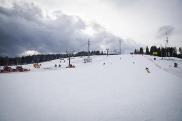 Opening day at Bialka Ski Area, 19th November 2016