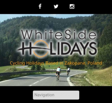 Cycling Holidays Poland, new cycling packages in Zakopane now available