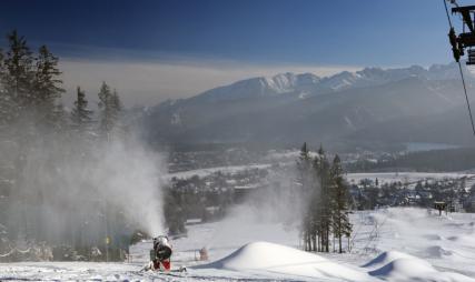 9th December, Zakopane starting to look very wintery
