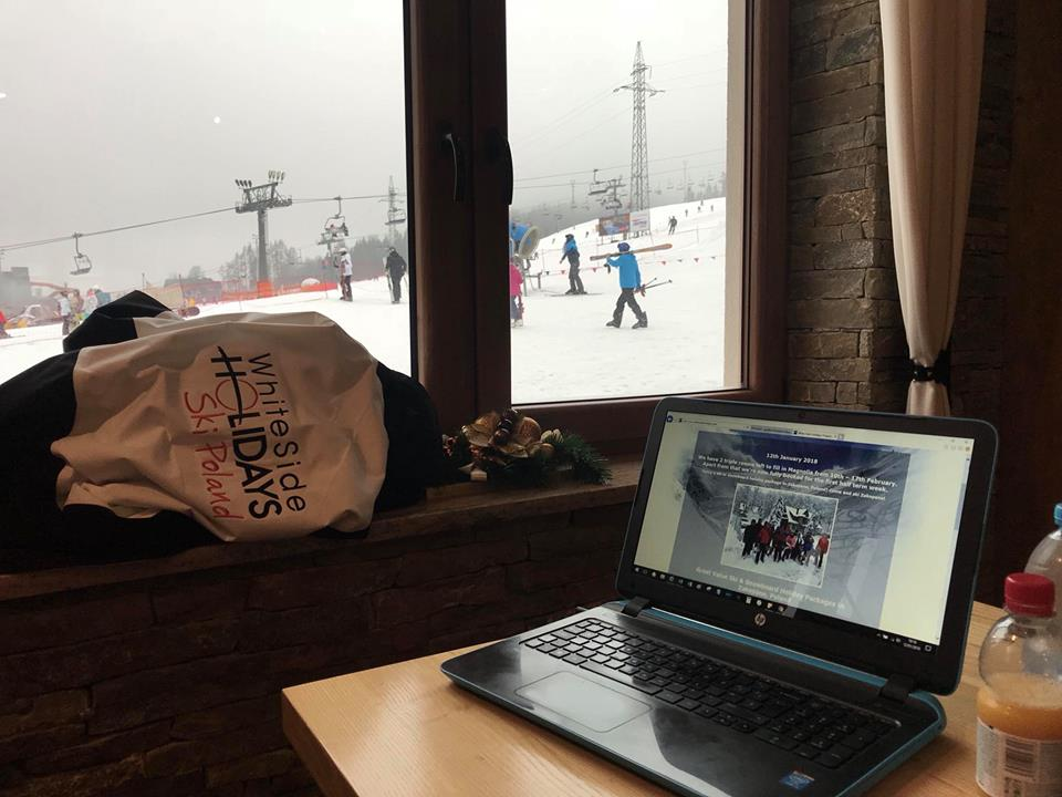 White Side Holidays Poland, New Zakopane Skiing Packages website being worked on by the slopes!