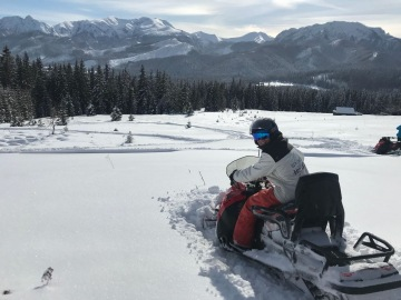 Snowmobiling in Zakopane with White Side Holidays Poland