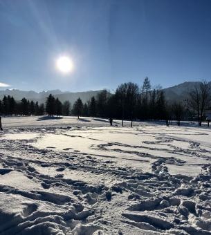 A crisp winter's day in Zakopane, December 2016
