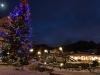 Christmas time in Zakopane is magical when the snow is lining the streets of Krupowki